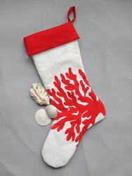 Red Coral Stocking