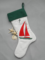 Sailboat Stocking