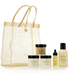 Sans Pure Skincare Gift Set <font color=a8bb35> NEW</font>