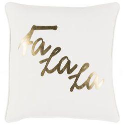 Fa La La Pillow White