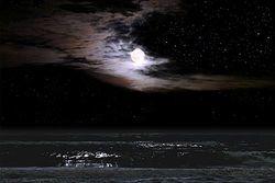 Ocean Moonlight Giclee Print