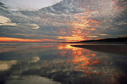 Ocean Sunset Giclee