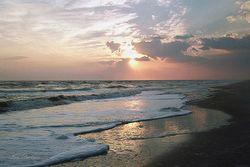 Ocean Surf at Sunset Giclee