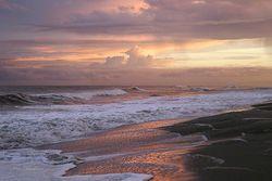 Sunset Surf Giclee