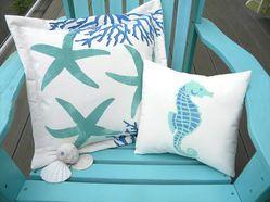 Hand Painted Indoor/Outdoor Pillows