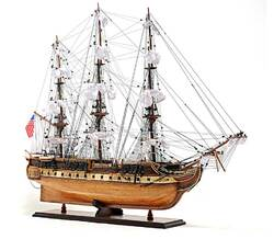 USS Constitution Replica Model Exclusive Edition in Two Sizes