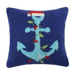 Santa Anchor Holiday Pillow <font color=cf2317> Sold Out</font>