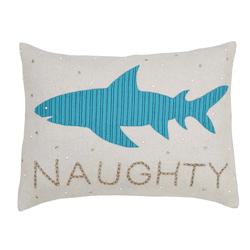 Naughty Shark Pillow