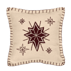 North Star Pillow in Two Sizes