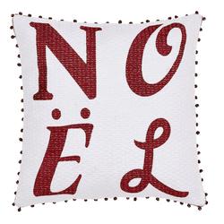Vintage Stripe Noel Pillow