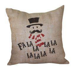Fa La La La La Pillow <font color=a8bb35> Discontinued</font>