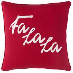Fa La La Pillow Red