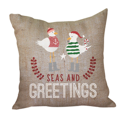 Seas and Greet Pillow <font color=a8bb35> Discontinued</font>