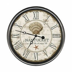 Vintage Shell Clock - Personalize It