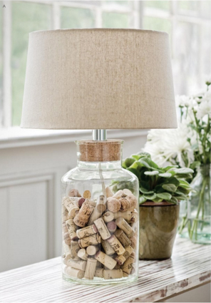 White, Glass U0026 Crystal Table Lamps