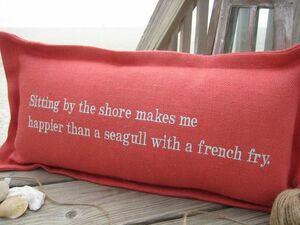 Phrases and Places Pillows
