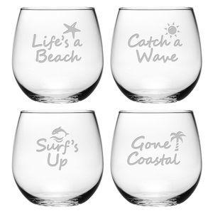 Beach Glassware
