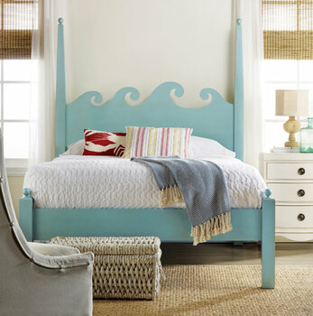 Coastal & Beach Bedroom Furniture Sets - Cottage & Bungalow
