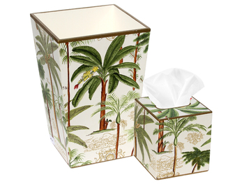 Tissue & Wastebasket Sets