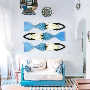Iron fish Beach Art