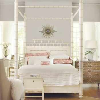 Canopy Beds Coastal  Beach House Furniture Cottage Bungalow