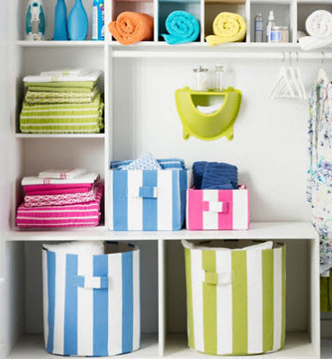 Storage Bins & Beach themed storage bins for sale - Cottage and Bungalow