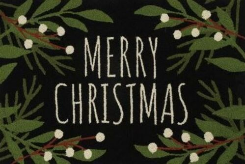 Merry Christmas Indoor Christmas Doormat