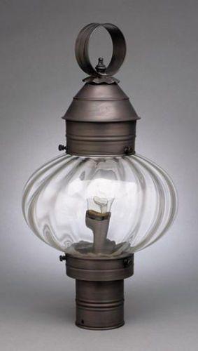 10 Onion Post Lantern with Optic Glass