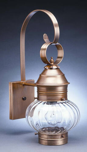 8 Wall Mount Onion Lantern