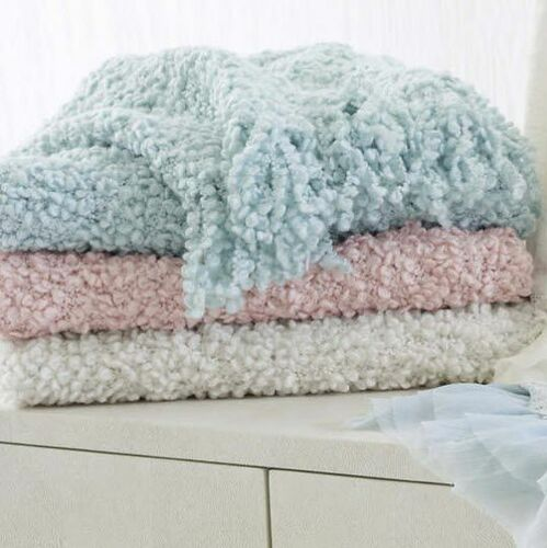Adelle Throw Robins Egg Blue<font color=a8bb35> NEW</font>