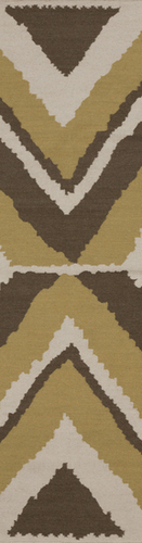 Alameda Olive/Ivory Flat Weave Rug