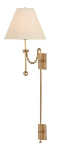 Arrowpoint Brass Wall Sconce <font color=a8bb35> Sold Out</font>