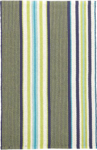 Asher Stripe Woven Cotton Rug