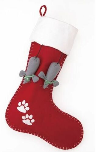 Cat Holiday Christmas Stocking<font color =a8bb35> Sold out</font>