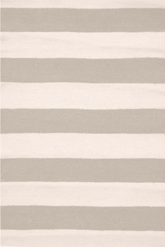 Catamaran Stripe Platinum/Ivory Indoor/Outdoor Rug