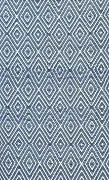Diamond Denim White Indoor/Outdoor Rug