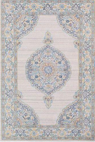 Diwali Medim Gray Hand Tufted Rug