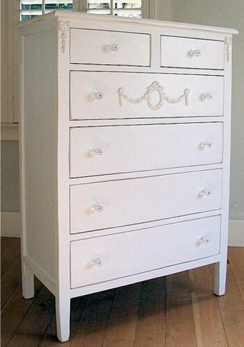 Emma's Coastal Tallboy Dresser