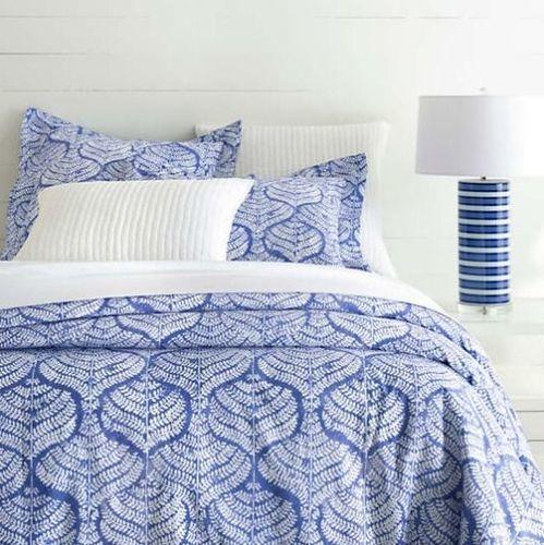 Flora Blue Duvet Cover