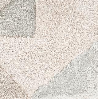 Genesis Light Grey Hand Tufted Rug