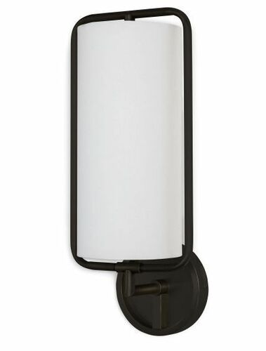 Geo Rectangle Oil Rubbed Bronze Sconce
