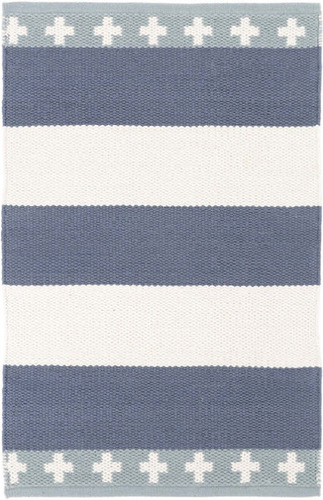Inspired Stripe Cotton Woven Rug<font color=a8bb35> 20% off</font>