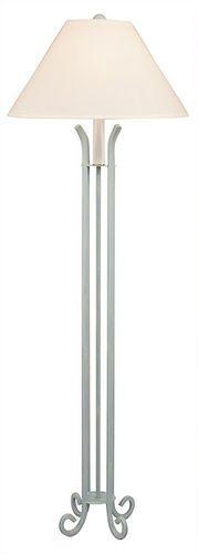 Iron Floor Lamp with 4-legs