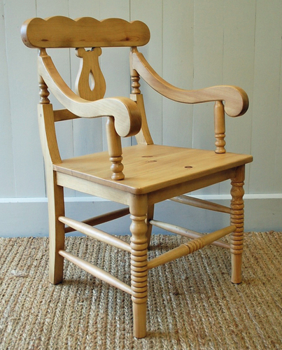 Coastal Cottage Host Chair