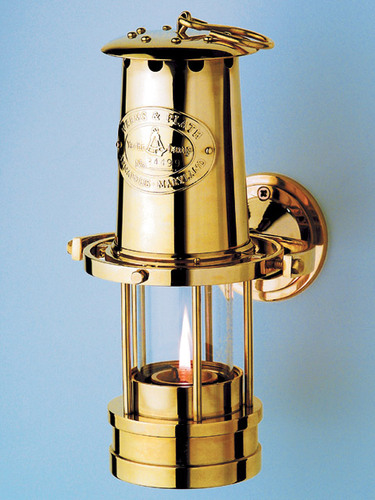 Large Nautical Yacht Lamp - Three Color Options