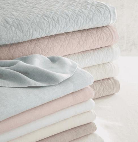 Lush Linen White Pillowcases