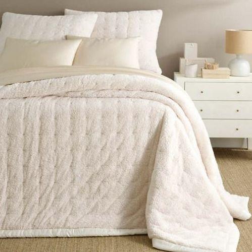 Marshmallow Fleece Ivory Fleece Quilt *NEW