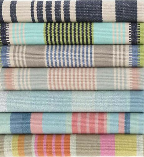 Moxie Stripe Woven Cotton Rug<font color=a8bb35> NEW</font>