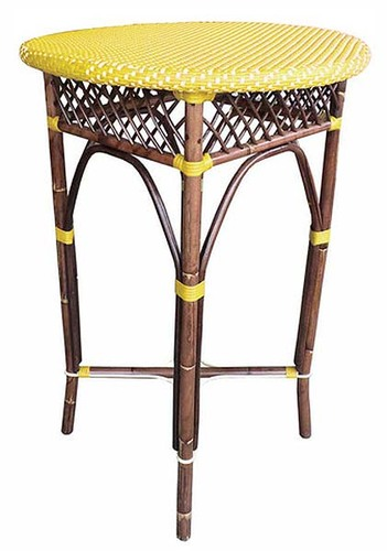 Paris Bar Stool in Yellow *Backorder