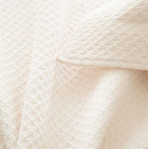 Petite Trellis Ivory Matelasse Coverlet